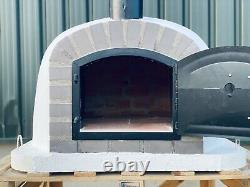 100x100co Brick Outdoor Pizza Ovens With Chrome Flute And Cap Included