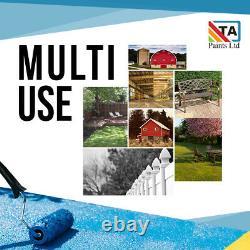 5 Litre Multi Purpose Exterior Paint Wood, Metal, Concrete Easy Application