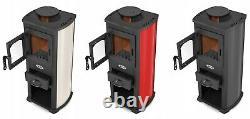Blist STOVE 3 Colours choose cast Men cave shed log Wood Burner Multifuel stove