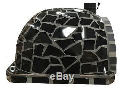 Brick outdoor wood fired Pizza oven 100cm Ceramic Pro-Italian stone