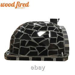 Brick outdoor wood fired Pizza oven 100cm brick Pro-Italian stone