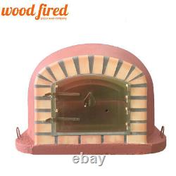 Brick outdoor wood fired Pizza oven 100cm brick red forno model