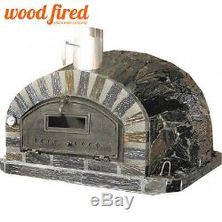 Brick outdoor wood fired Pizza oven 100cm x 100cm Rustic-Italian model