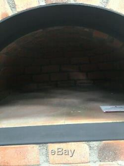 Brick outdoor wood fired Pizza oven 110cm brick dome
