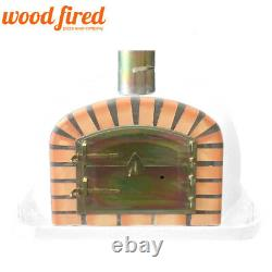 Brick outdoor wood fired Pizza oven 70cm x 70cm Deluxe extra model