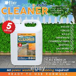 Elixir Gardens Path & Patio Cleaner Extra Strong and Ready To Use 5 Litres