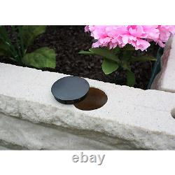 Good Ideas Garden Wizard Outdoor Self Watering Raised Garden Bed, Red Brick