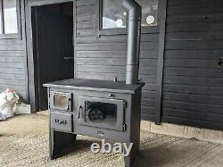 Multi Fuel Boiler Cooking Stove With Back Boiler