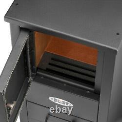 NEW Blist STOVE Men's cave shed wood log burner Woodburner Multifuel Solid Steel