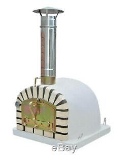 Outdoor Brick Wood Fired Pizza Oven 80cm Icook Insulated