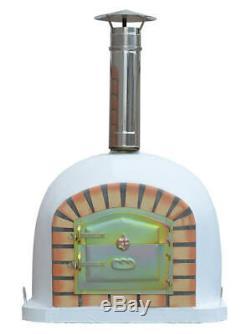 Outdoor Brick Wood Fired Pizza Oven 80cm Prestige