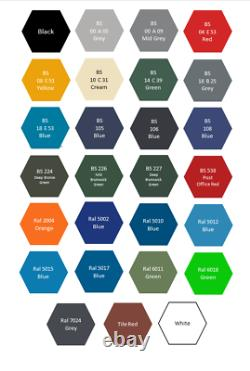 Outdoor Garden Paint For Exterior Wood Metal Stone Brick All Colours and Size