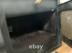 Prity 1P34L Wood Burning Cooking Stove Cast Iron Top 10kw Oven