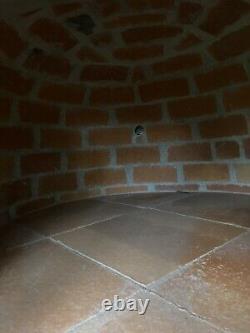 RUSTIC WOOD FIRED PIZZA OVEN CAST DOOR INSULATION OUTDOOR OVEN 1100mm