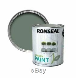 Ronseal Outdoor Exterior Garden Paint Wood Brick Metal Stone All Colour's -750ML