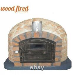 Rustic Outdoor Large Wood-fired Pizza Oven Please Read Full Description