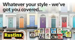 Rustins Small Job Gloss & Satin Colour Paint Indoor & Outdoor Use For Wood Metal