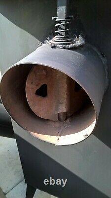 Stove 5 firebricks burning Stove Wood Burner Garage Workplace Shed Hi Spec Model