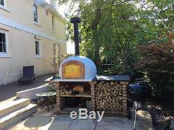 Wood Fired Brick Pizza Bread Outdoor Oven 1000mm From Amigo Ovens