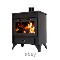Wooden Stove, Fire Ray Max With Feuerfesten Stones IN Interior