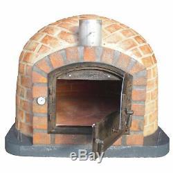 110cm Rústico Extérieur Au Feu De Bois Brique Four À Pizza