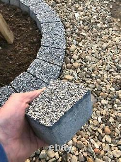4 Niveaux Foyer Gris Foncé Dalle De Granite Cheminée Bricolage Jardin Patio Briques