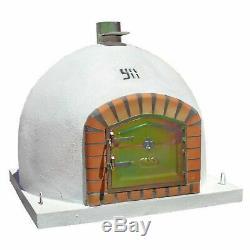 90cm Mediterrani Outdoor Brick Pizza Four