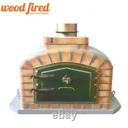 Brique Au Bois Extérieur Cuit Four À Pizza 90cm Gris Modèle Exclusif