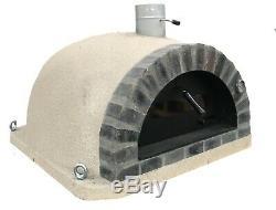 Brique Bois Extérieur Tiré Four À Pizza 100cm Maxi Pro-italienne