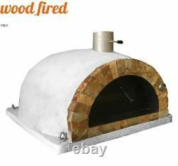Brique Feu De Bois Extérieur Pizza Four 100cm Pro Italian Rock Face