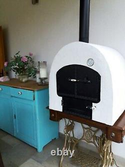 Four À Bois Mobile, Four Extérieur Original Hongrois Fait Main. Four À Pizza