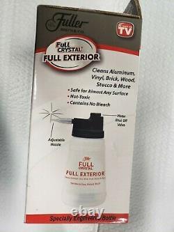 Fuller Brosse Pleine Cristal Extérieur Kit Aluminium Vinyle Brique Cleans Bois Stuc