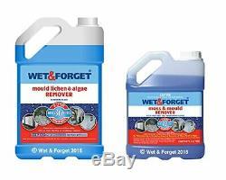 Wet And Forget Moss Mold Et Algues Lichen Remover 5 Litres Plus 2 Litres