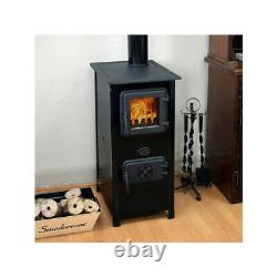 Wood Burning Stove Man Cave House 7kw Cuisson Stove Éco-design Solid Quality